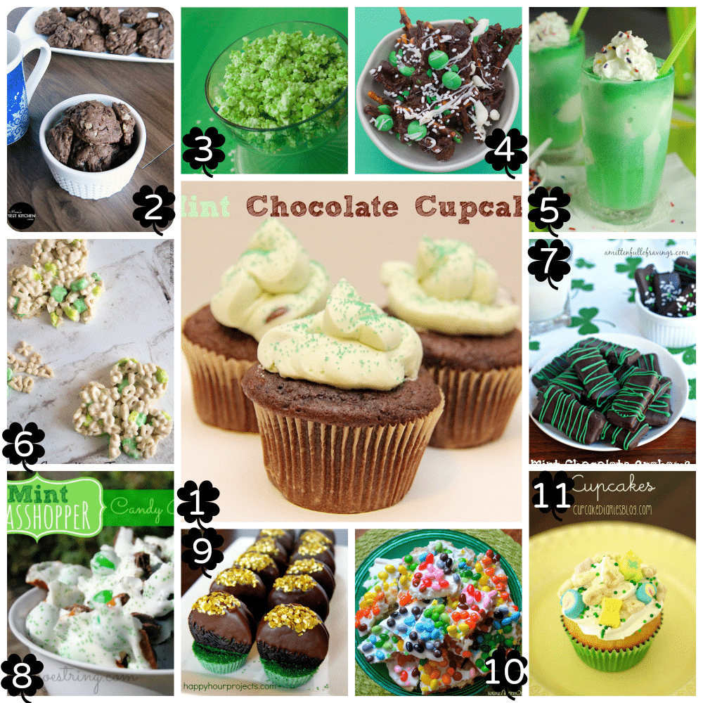 St. Patrick's Day Ideas for Kids - Recipes