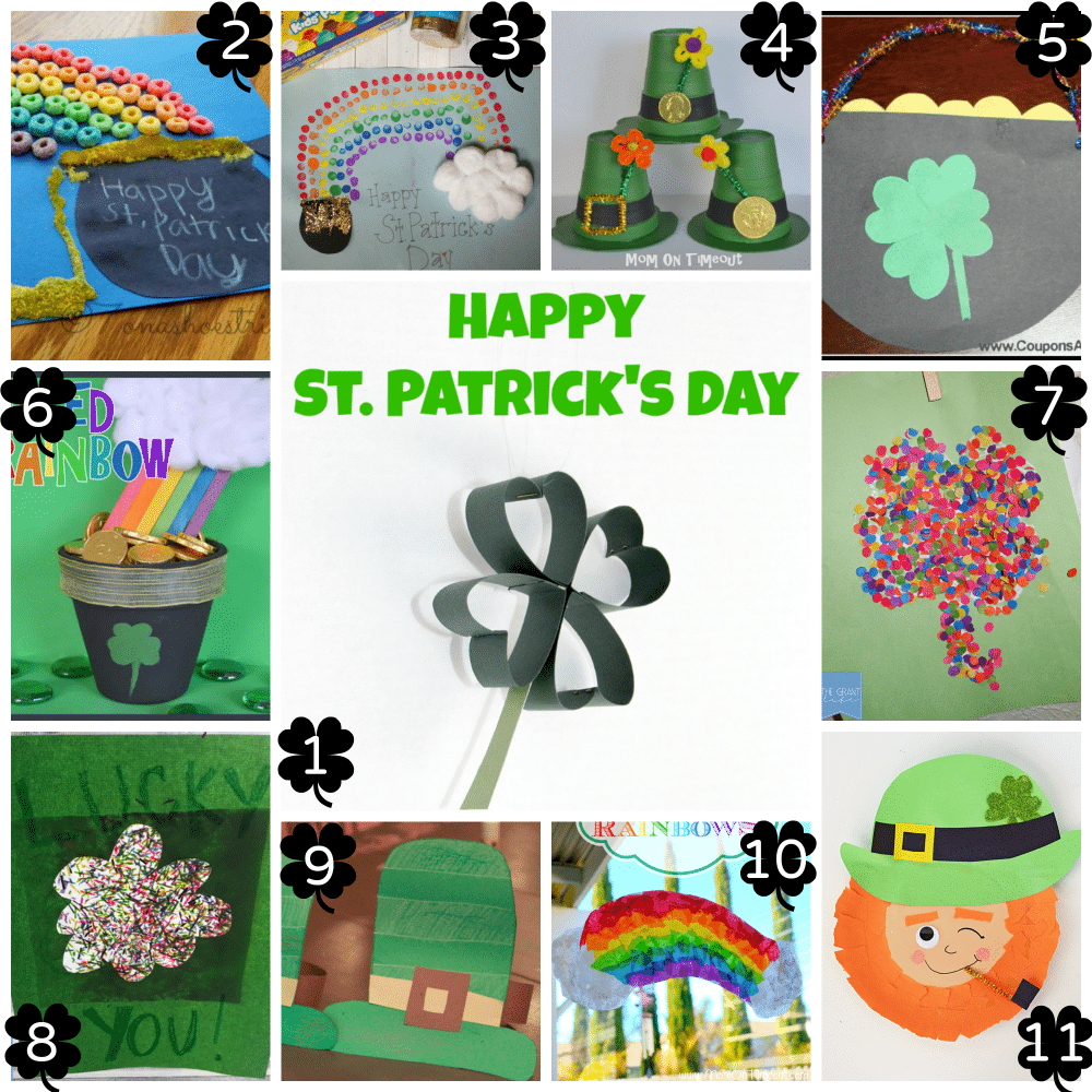 St. Patrick's Day Ideas for Kids - Crafts