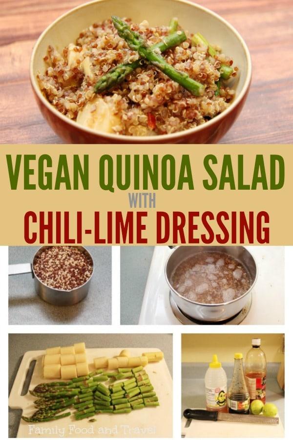 Vegan Quinoa Salad College