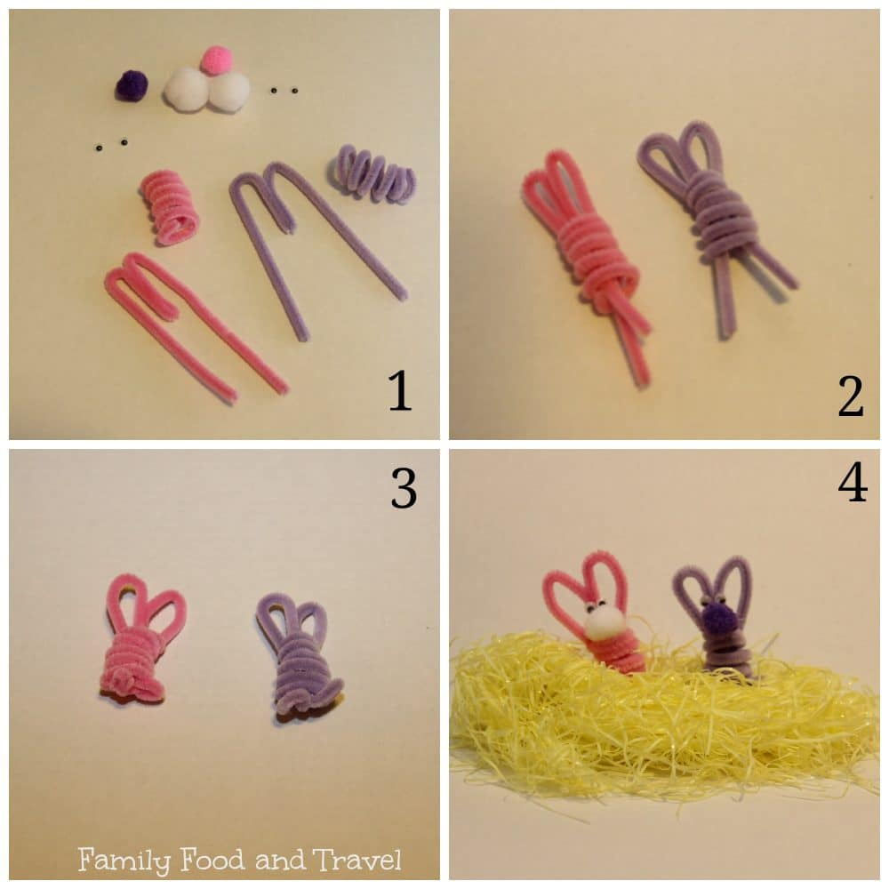 easter crafts with pipe cleaners