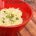 Gluten Free Four Cheese Pasta