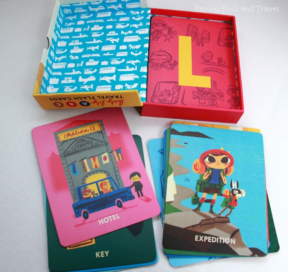travel flash cards learning through travel