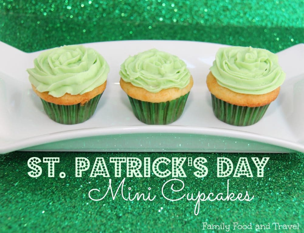 st patricks day cupcakes