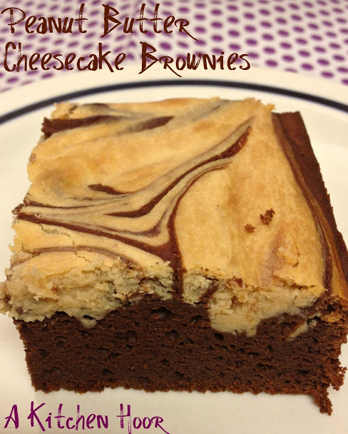 PB Cheesecake Brownies