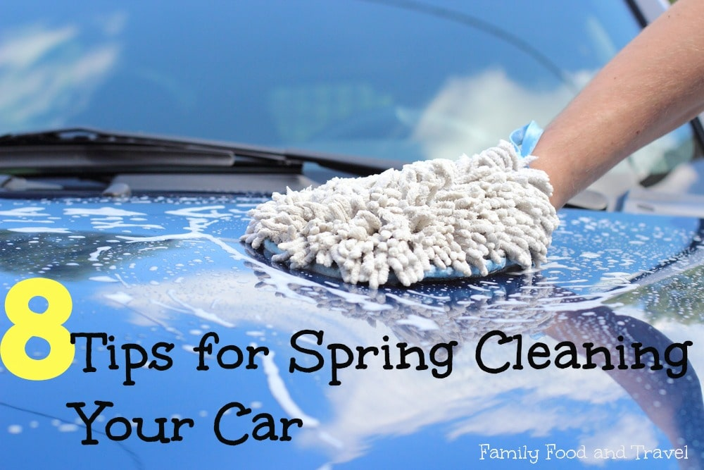 Tips for Spring Cleaning Your Car #HyundaiDriveSquad
