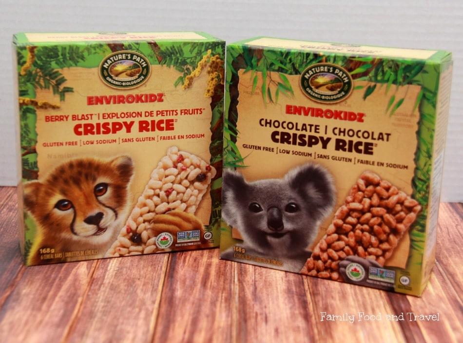 envirokidz cereal bars