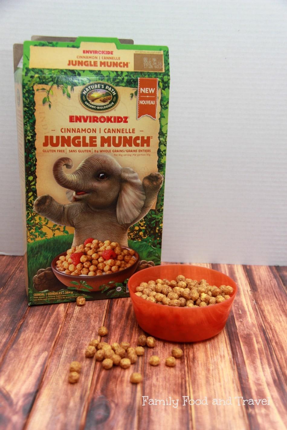 Jungle Munch Envirokidz Cereal