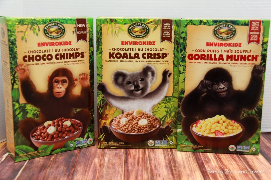 Nutritious and Earth Friendly NEW Envirokidz Cereal