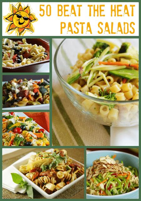 50 Beat the Heat Pasta Salad Recipes Roundup