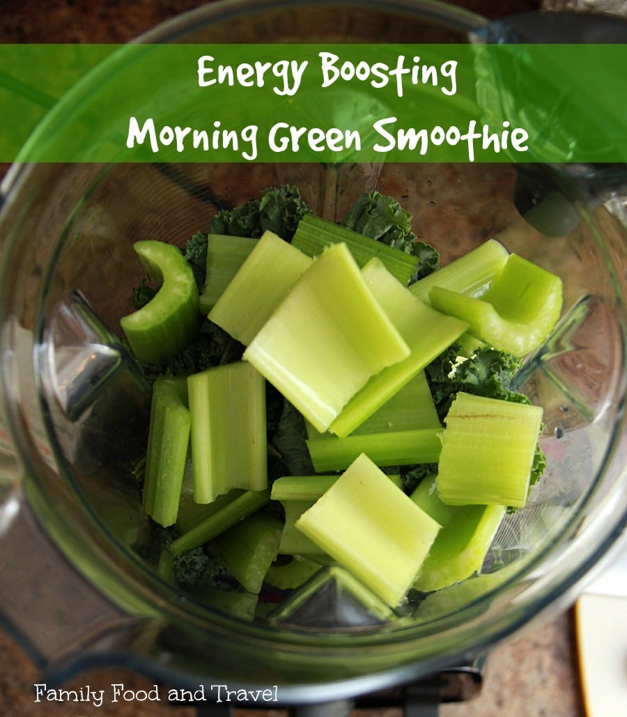 Vitamix Morning Green Smoothie