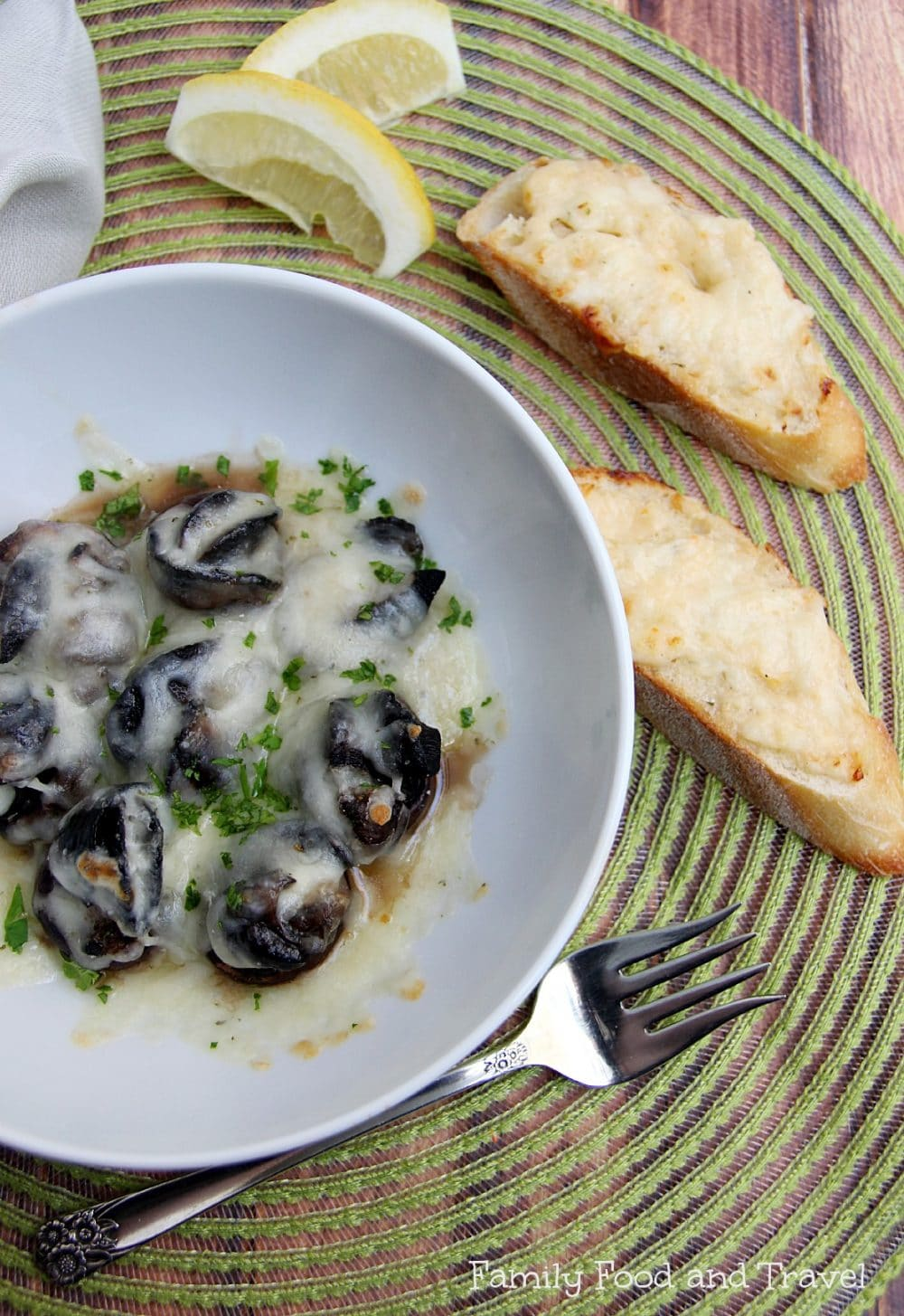 escargot recipe
