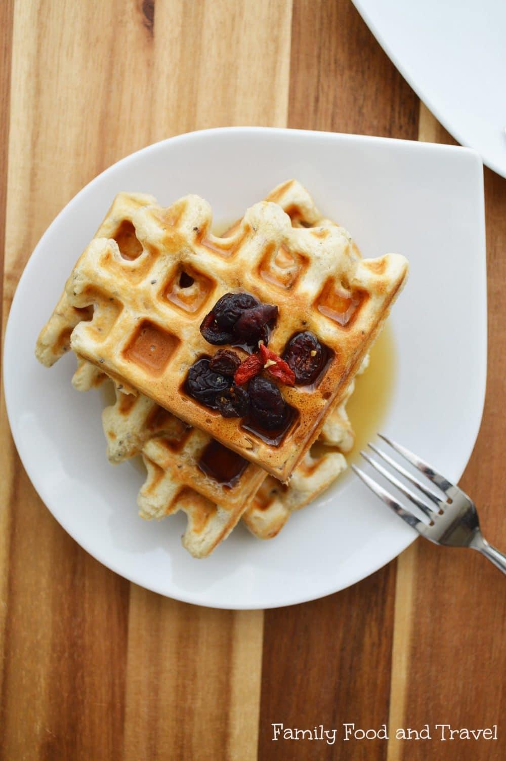 panettone waffles