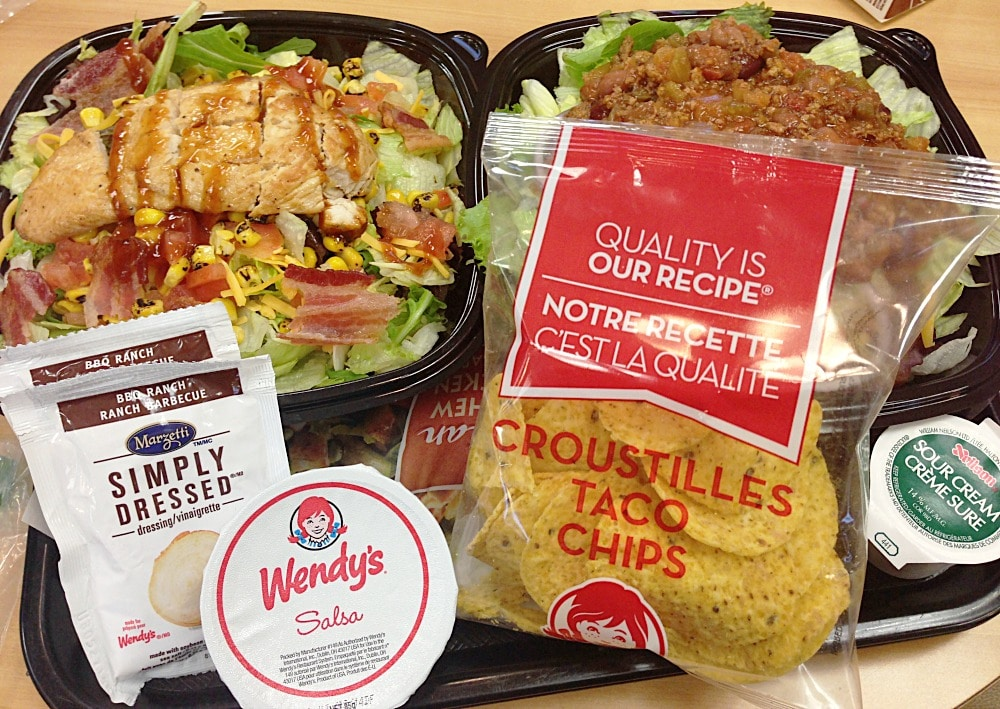 Wendys Menu Salads Lunch and Laughter #Ne...
