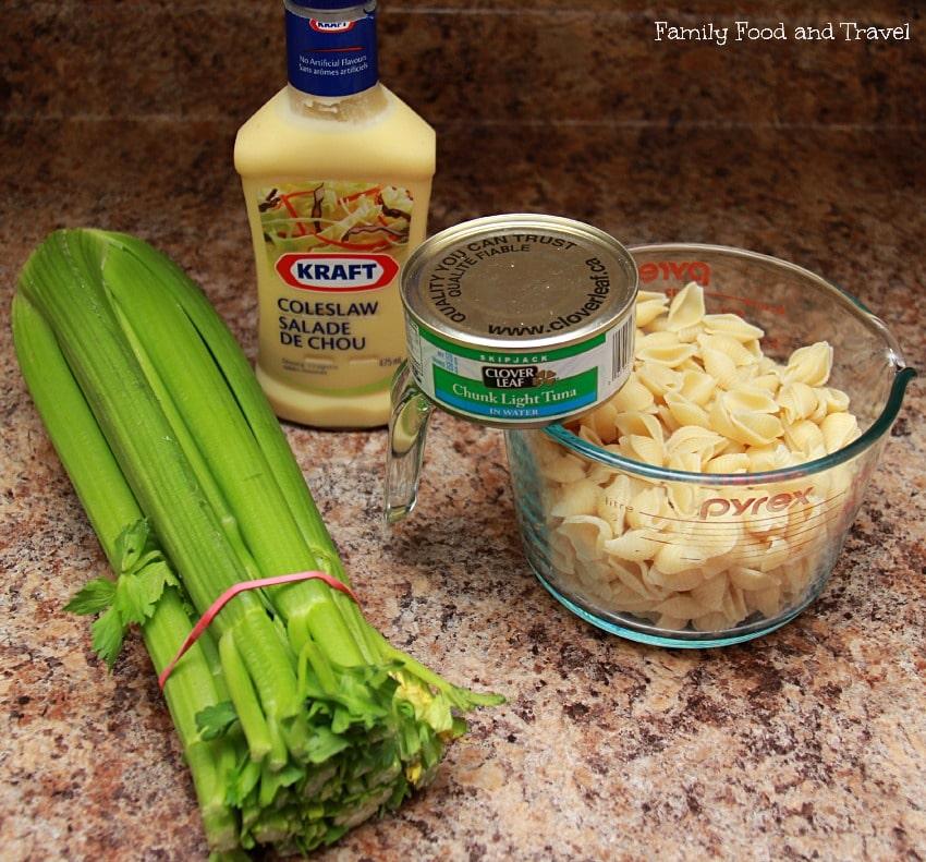 Classic Pasta Salad Ingredients