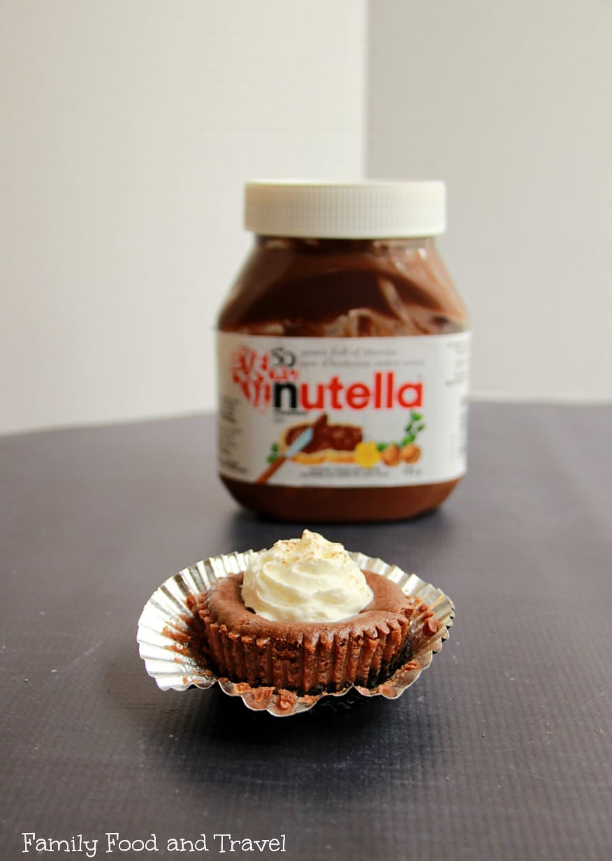Nutella mini cheesecakes 2