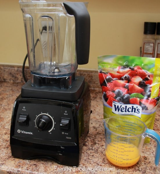Vitamix Whole Fruit Slushie