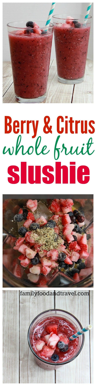 Whole Fruit Slushie