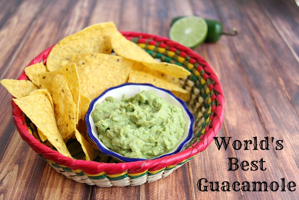 world's best guacamole