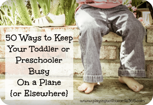 Travel Games and Activities your toddler will love