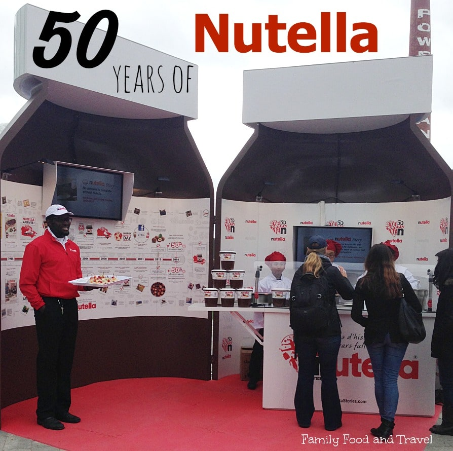 50 years of nutella