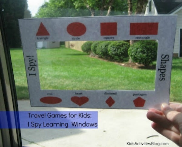 travel games and activities