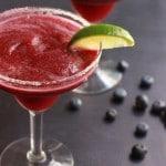 Blueberry Passionfruit Margaritas