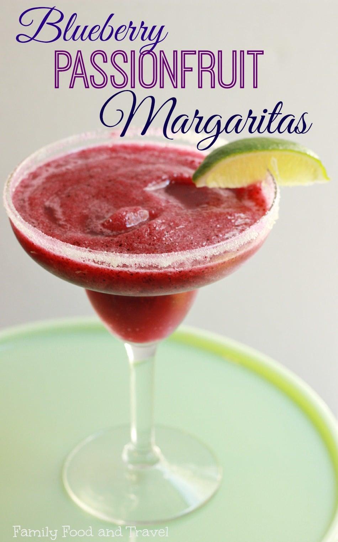 Blueberry Passionfruit Margaritas 2