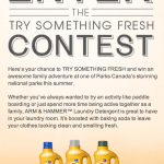 Freshen up with Arm & Hammer and Parks Canada #trysomethingfresh
