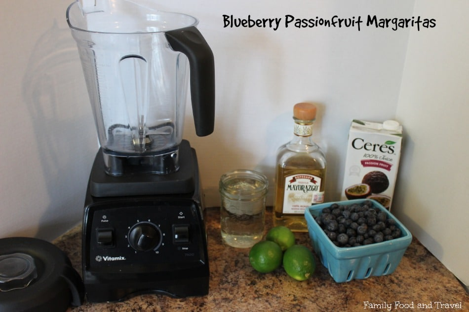 blueberry passionfruit margaritas ingredients