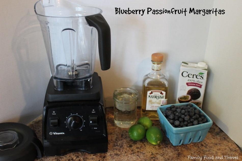 blueberry passionfruit margaritas ingredients