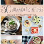 30 Lunchbox Recipe Ideas