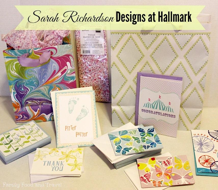 Beautiful designs from Sarah Richardson and Hallmark