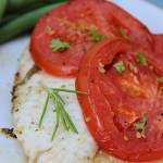 Tomato Baked Tilapia with Lemon