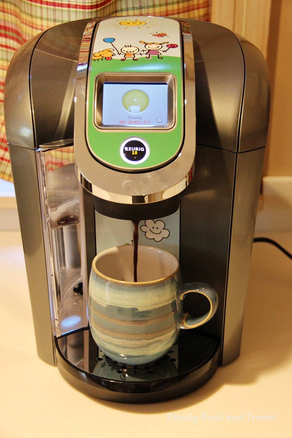 Brew a cup with Keurig 2.0