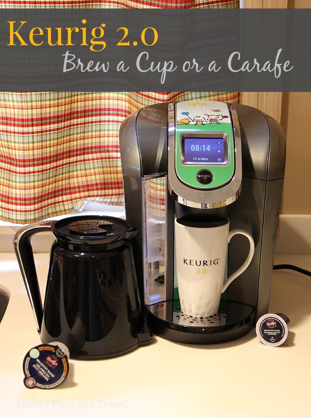 Keurig 2.0 Brew a Cup or Carafe