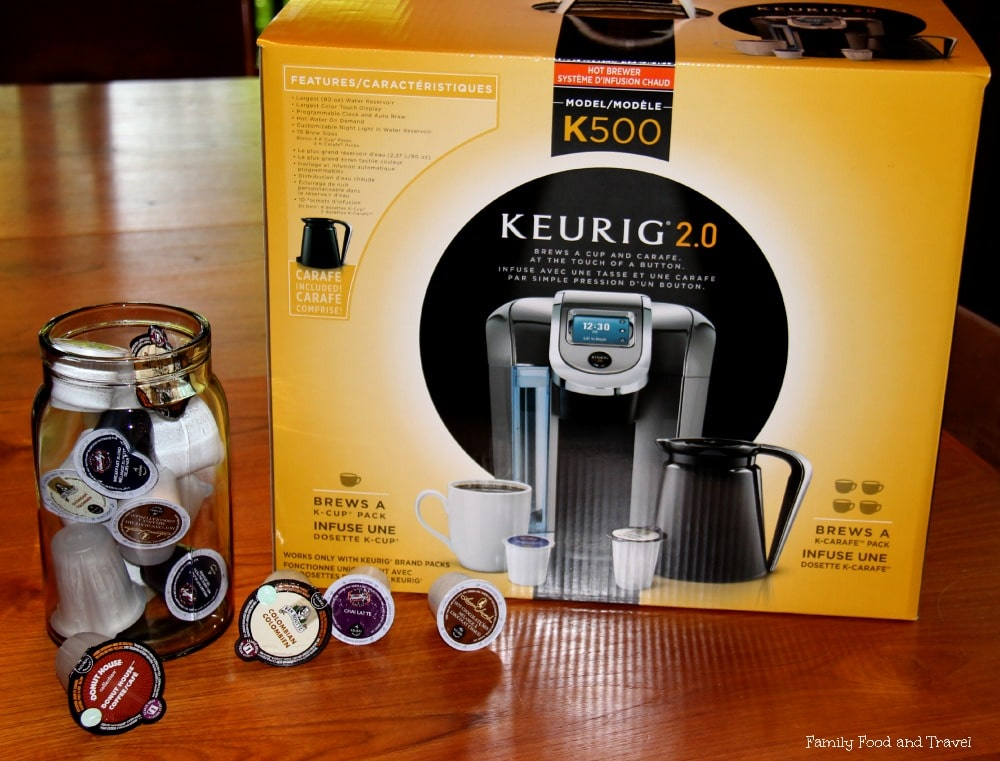 Brew a Cup or a Carafe with Keurig 2.0