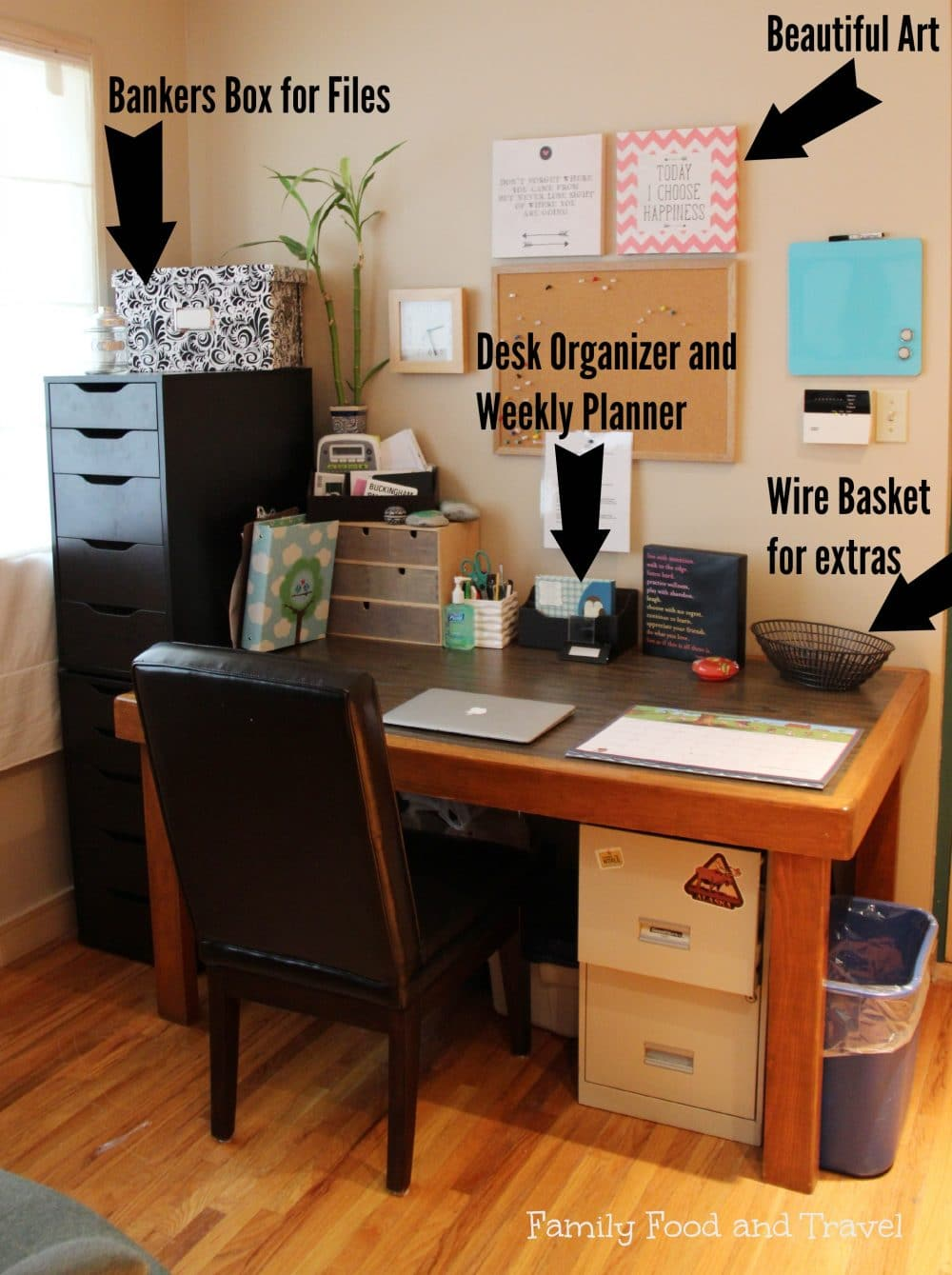 Office Organization Makeover