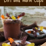 Dirt and Worms Pudding Cups
