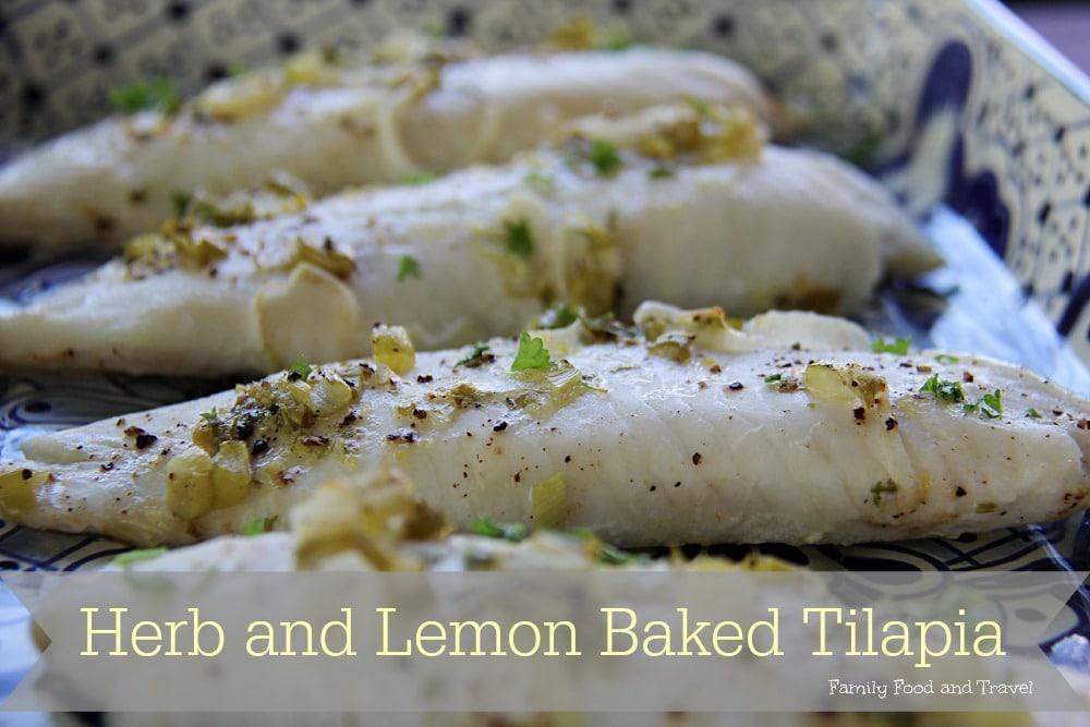 Herb and Lemon Baked Tilapia 2