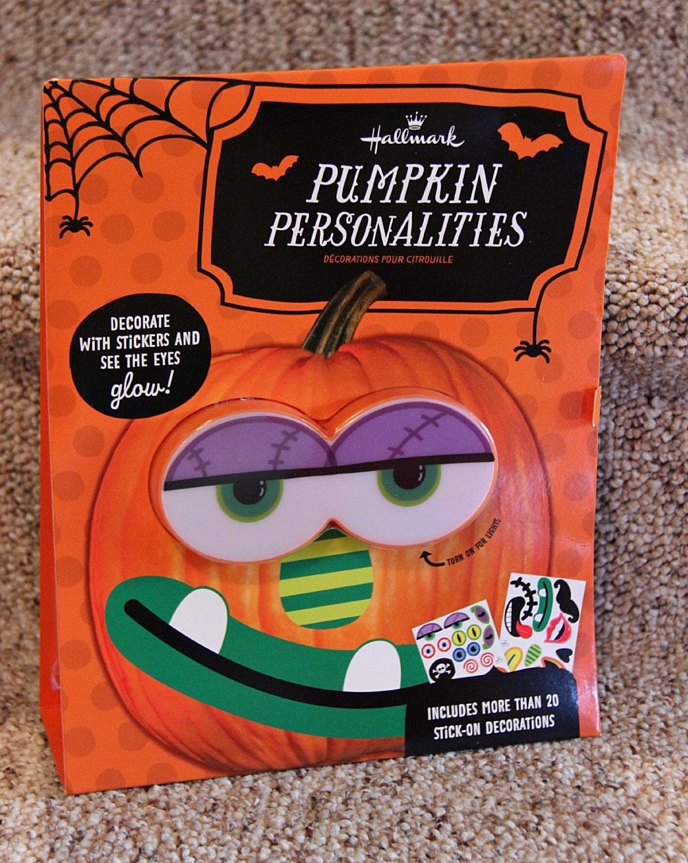 hallmark pumpkin personalities