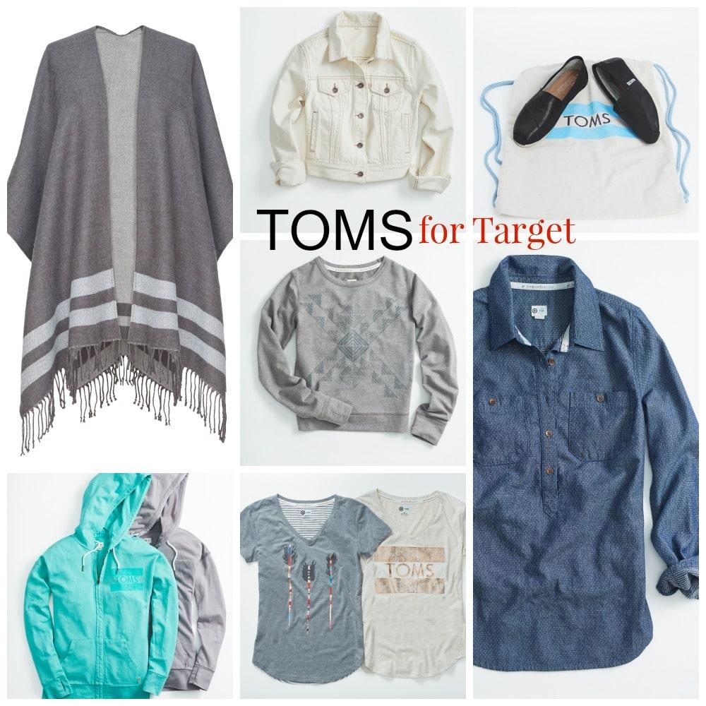 TOMS for target women