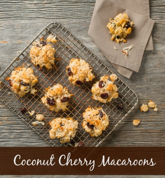 Coconut Cranberry Macaroons