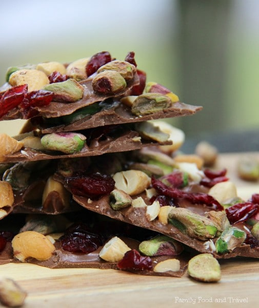 Cranberry Pistachio and Cashew Bark 2