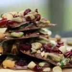 Cranberry Pistachio and Cashew Bark