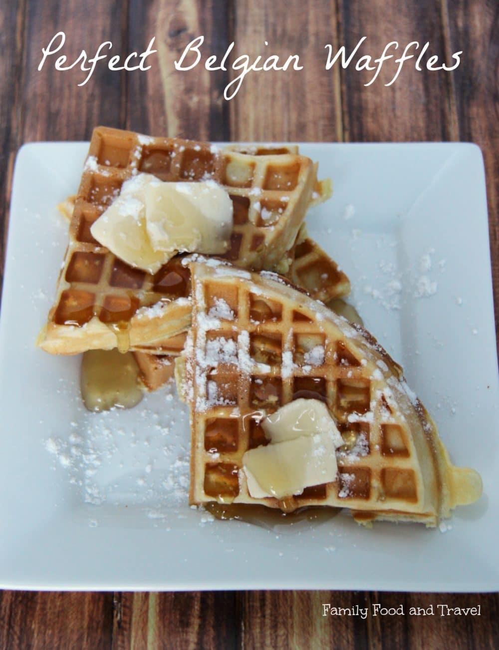 Perfect Belgian Waffles