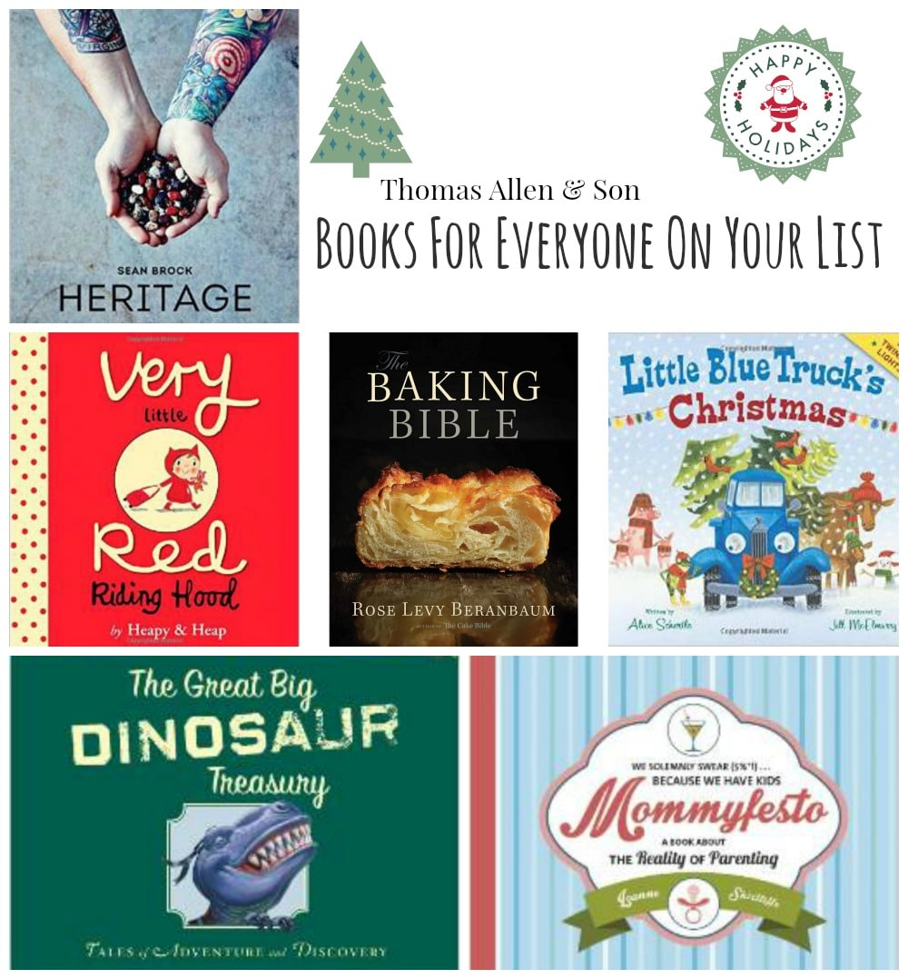 Books For Everyone On Your Holiday List