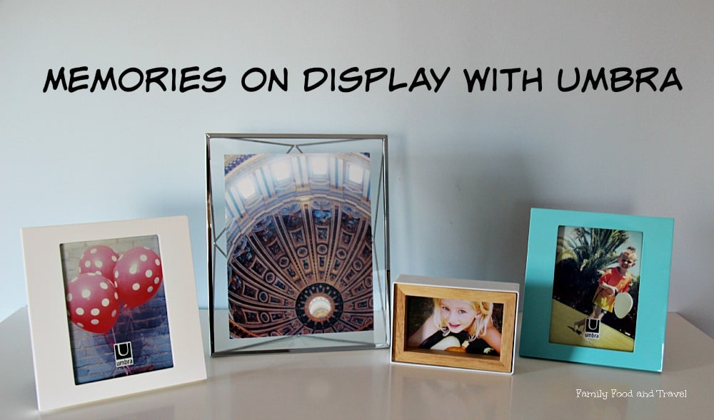 Memories on Display with Umbra Frames