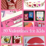 20 Crafts and Printables for Valentines Day