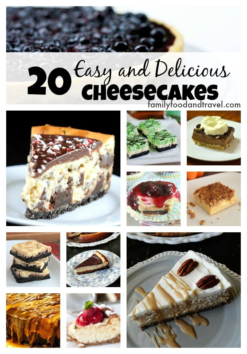 20 Easy and Delicious Cheesecakes