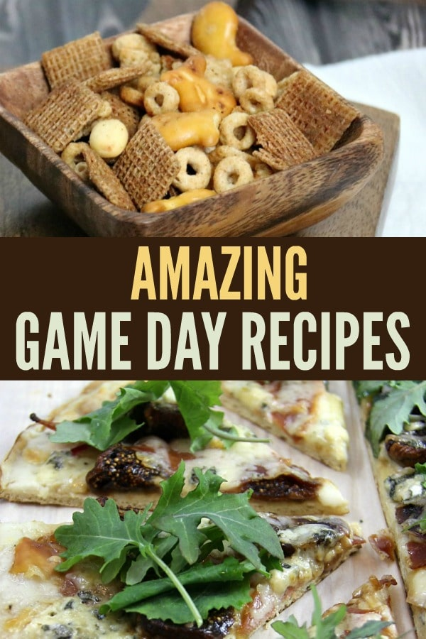 Game Day Recipes Collage